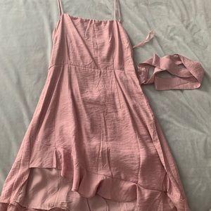 Princess polly blush pink dress